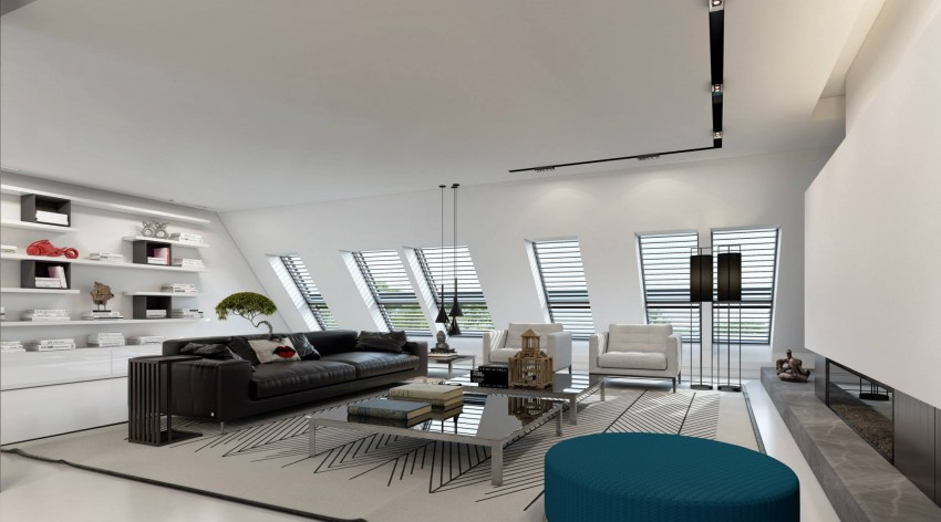 Apartment in Dusseldorf by Ando Studio 02