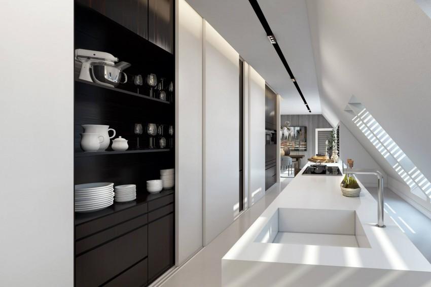 Apartment in Dusseldorf by Ando Studio 08