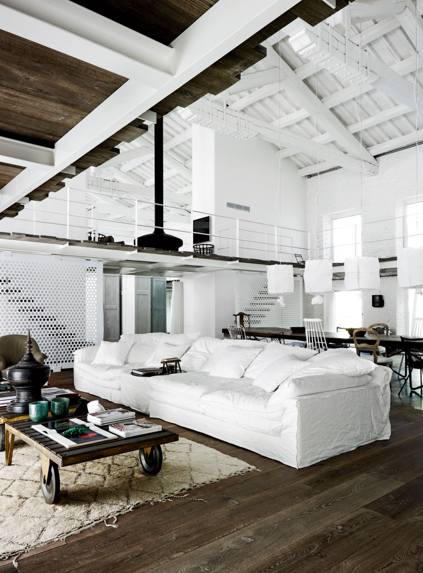 Industrial renovation in Umbria by Paola Navone 01