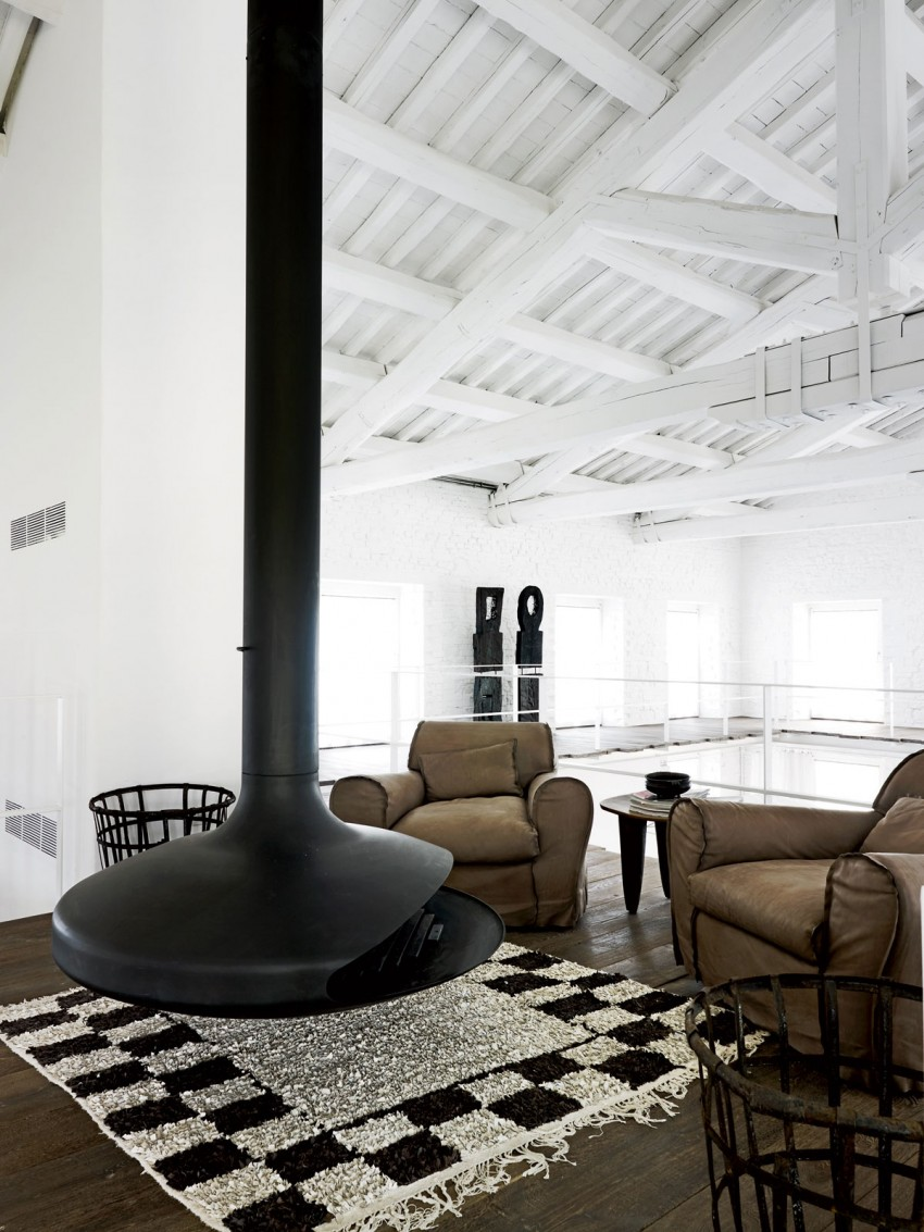 Industrial renovation in umbria by paola navone myhouseidea - Interior design perugia ...
