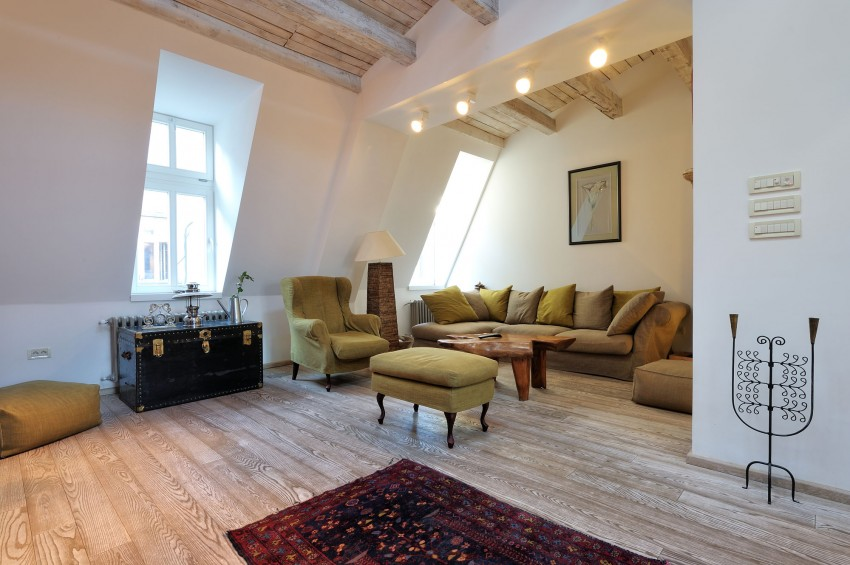 Restored Penthouse in Belgrade by PUJO.RS 03