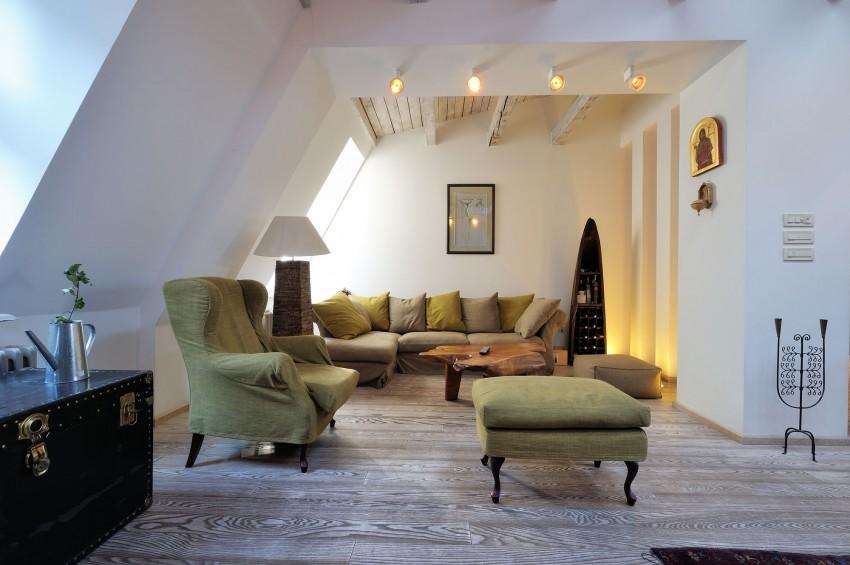 Restored Penthouse in Belgrade by PUJO.RS 04