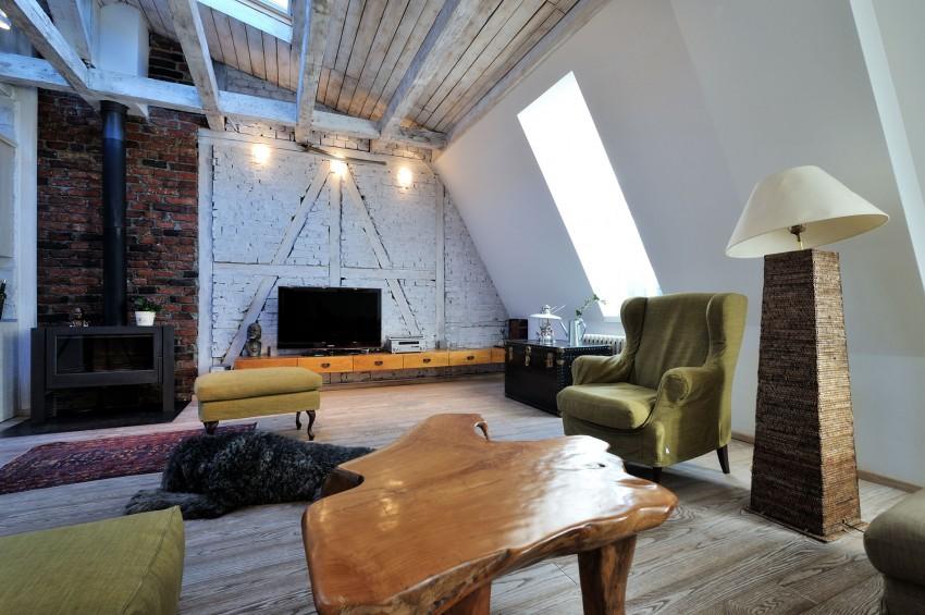 Restored Penthouse in Belgrade by PUJO.RS 05