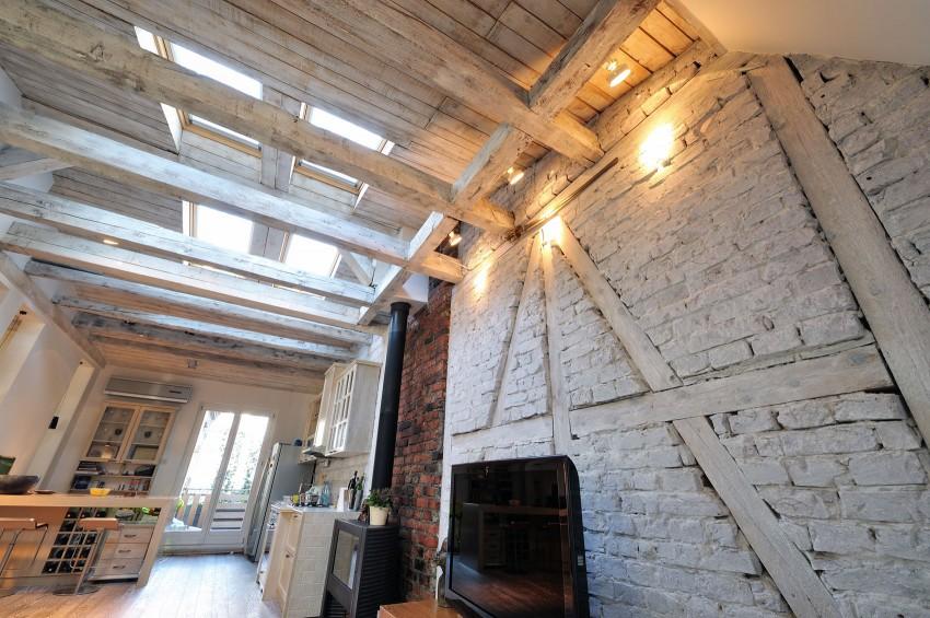 Restored Penthouse in Belgrade by PUJO.RS 07