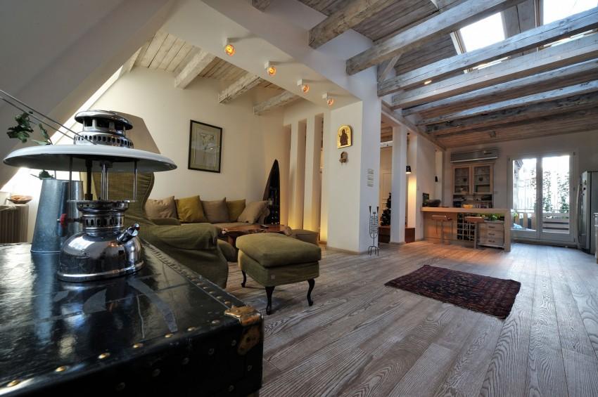Restored Penthouse in Belgrade by PUJO.RS 09