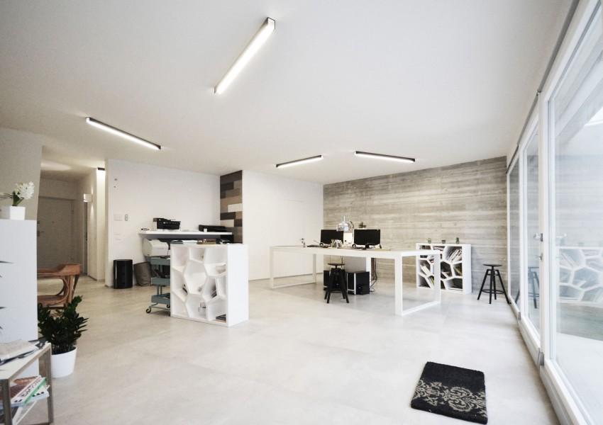 Casa studio by fds officina di architettura 11 myhouseidea for Piani di studio a casa