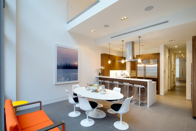 Townhouse by Turett Collaborative Architects 03