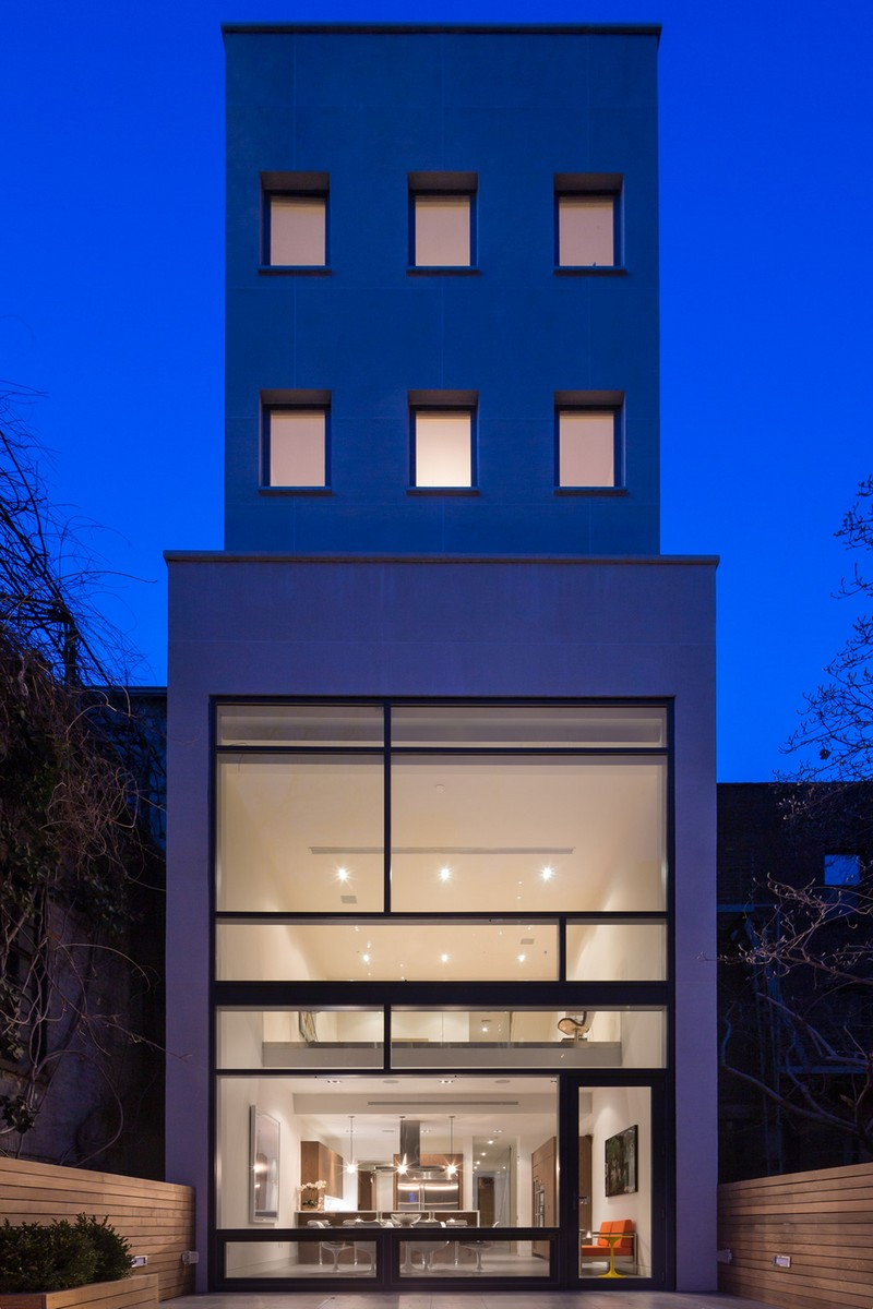 Townhouse by Turett Collaborative Architects 11