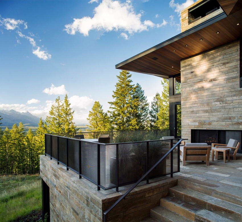 Butte Residence by Carney Logan Burke Architects 03