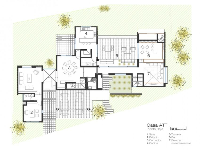 Casa ATT by Dionne Arquitectos 13