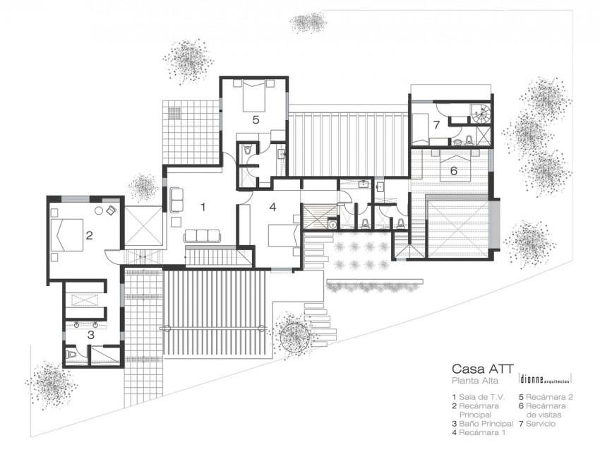 Casa ATT by Dionne Arquitectos 14