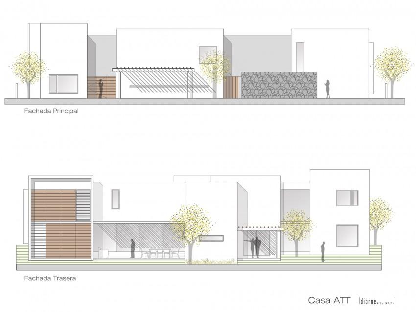 Casa ATT by Dionne Arquitectos 15
