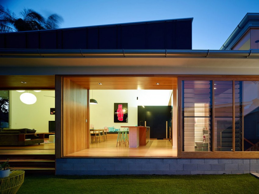 The Terraced House by Shaun Lockyer Architects 02