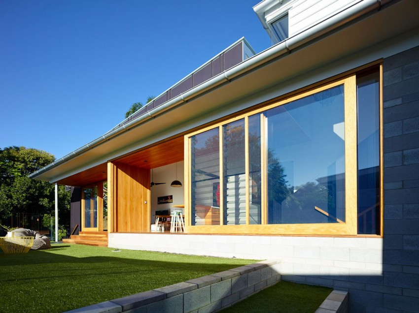 The Terraced House by Shaun Lockyer Architects 05