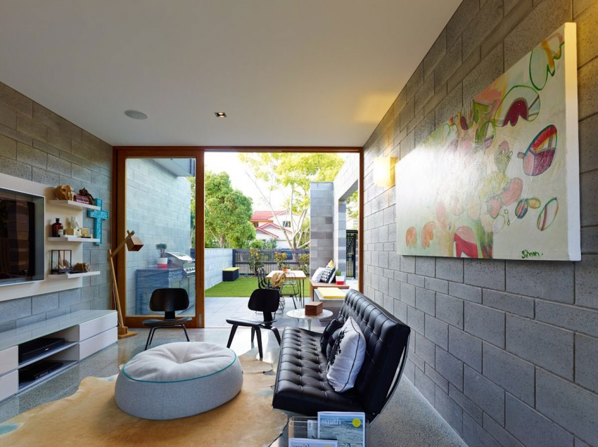 The Terraced House by Shaun Lockyer Architects 07