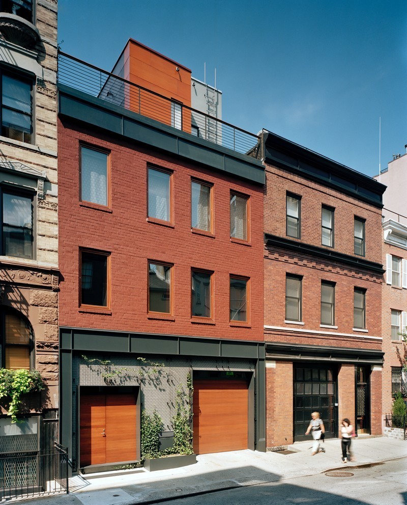 NYC townhouse renovation by Turett Collaborative Architects 15