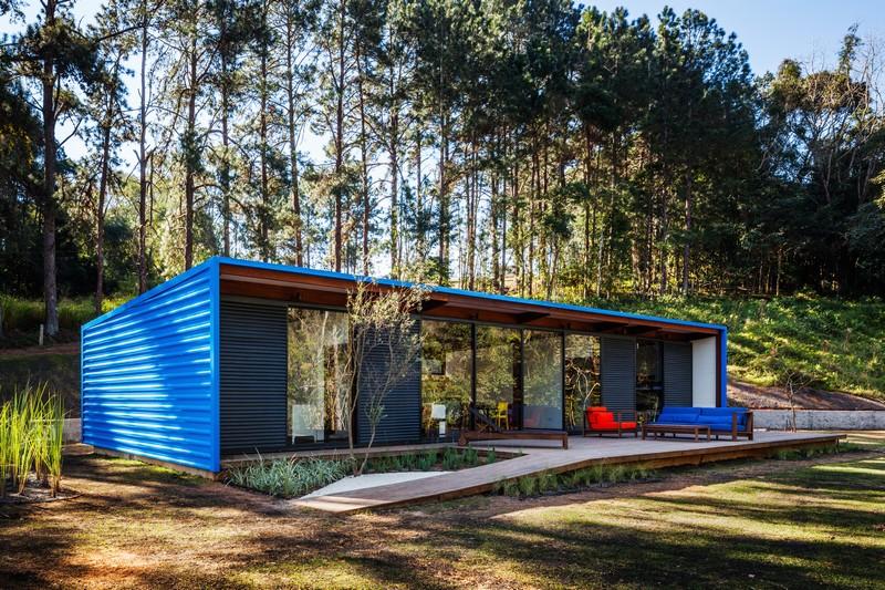 OZ House by Andrade Morettin Arquitetos Associados 08