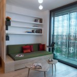 Small apartment for rent by GAO architects 04