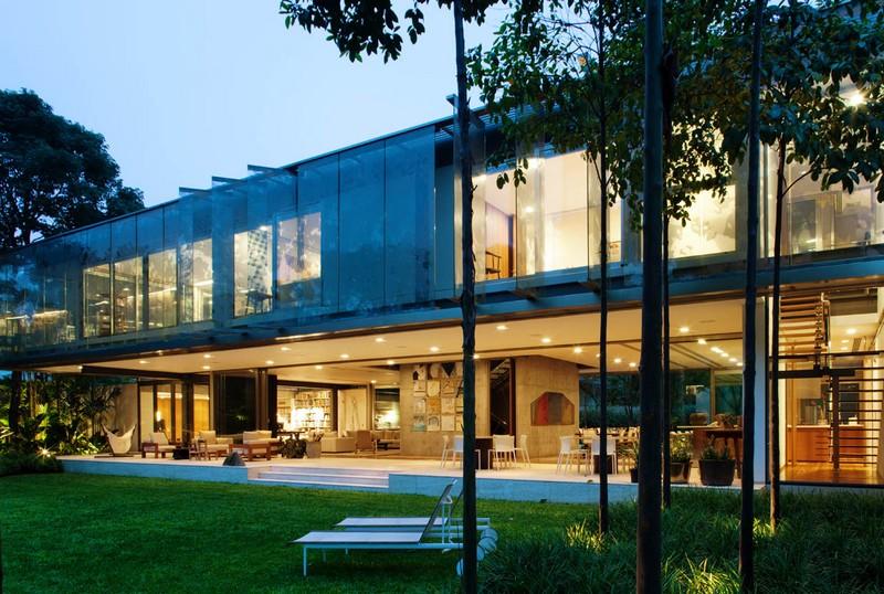 A.B. House by Andrade Morettin Arquitetos Associados 01