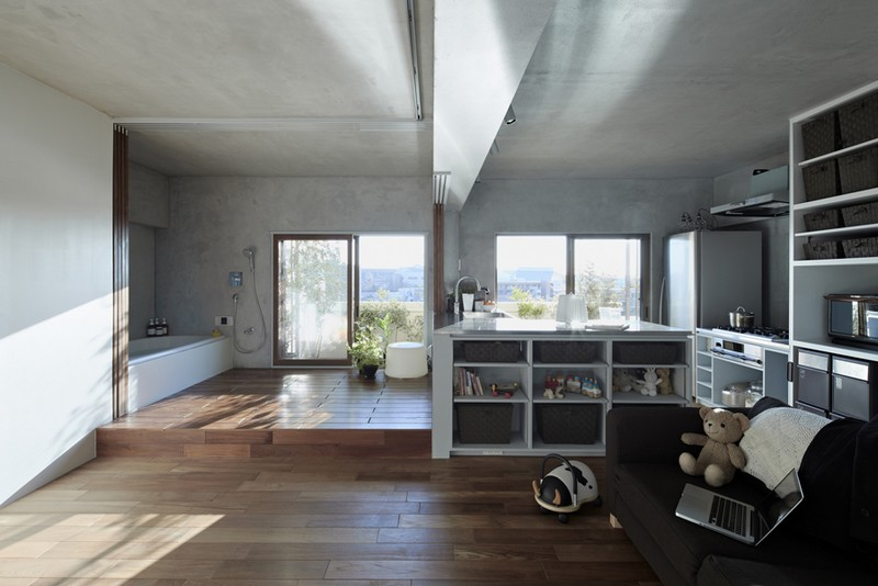 Bath Kitchen House by Takeshi Shikauchi 01