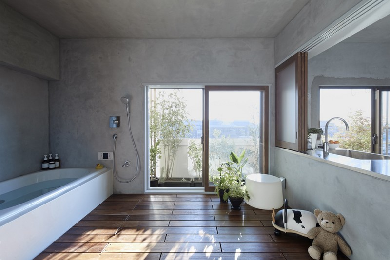 Bath Kitchen House by Takeshi Shikauchi 03