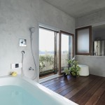 Bath Kitchen House by Takeshi Shikauchi 04