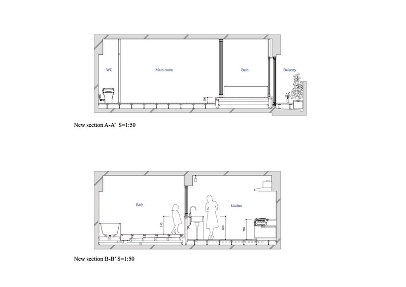 Bath Kitchen House by Takeshi Shikauchi 10