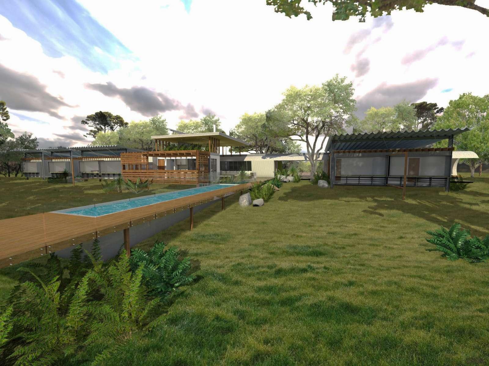 Valentine House by Bleuscape Design & Architecture Services 02