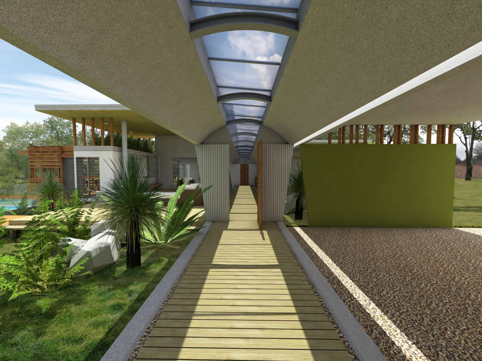 Valentine House by Bleuscape Design & Architecture Services 06