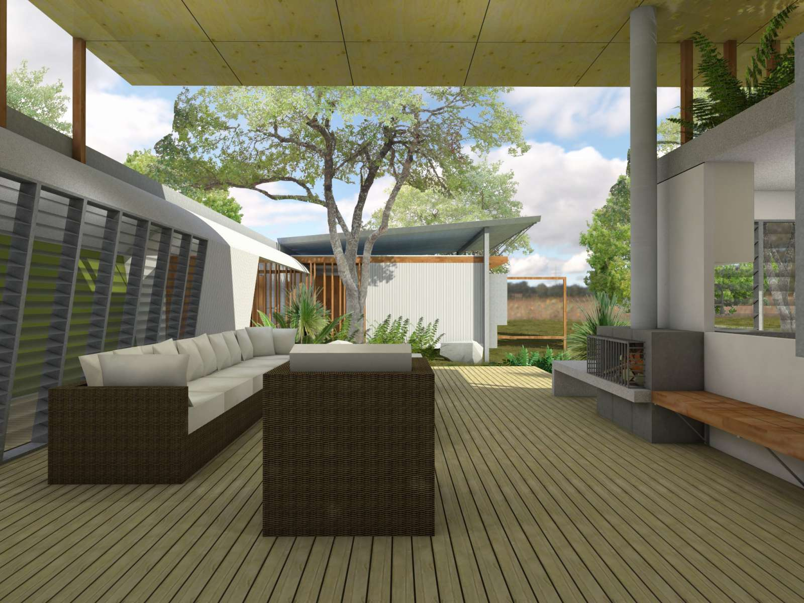 Valentine House by Bleuscape Design & Architecture Services 07