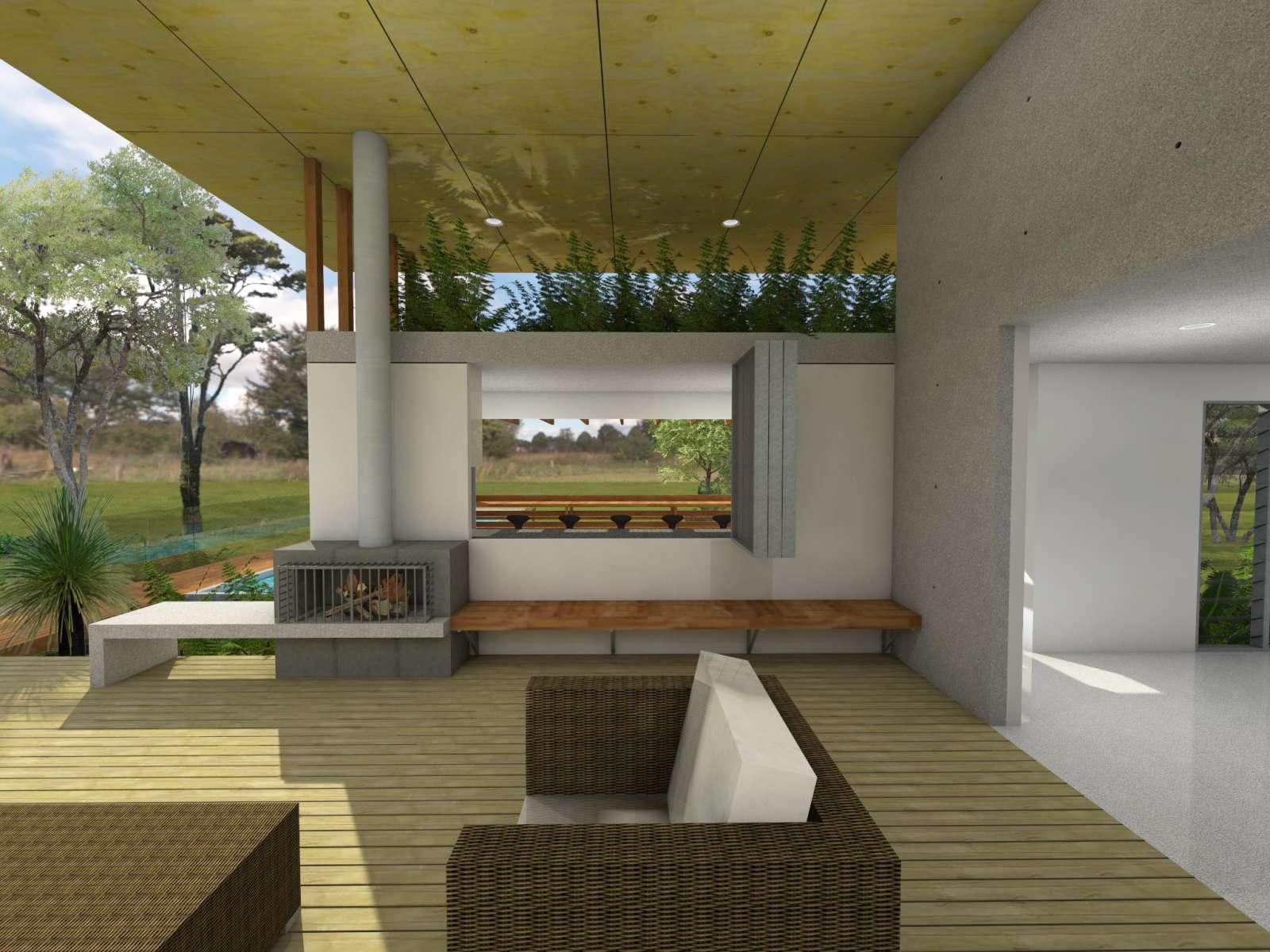 Valentine House by Bleuscape Design & Architecture Services 08