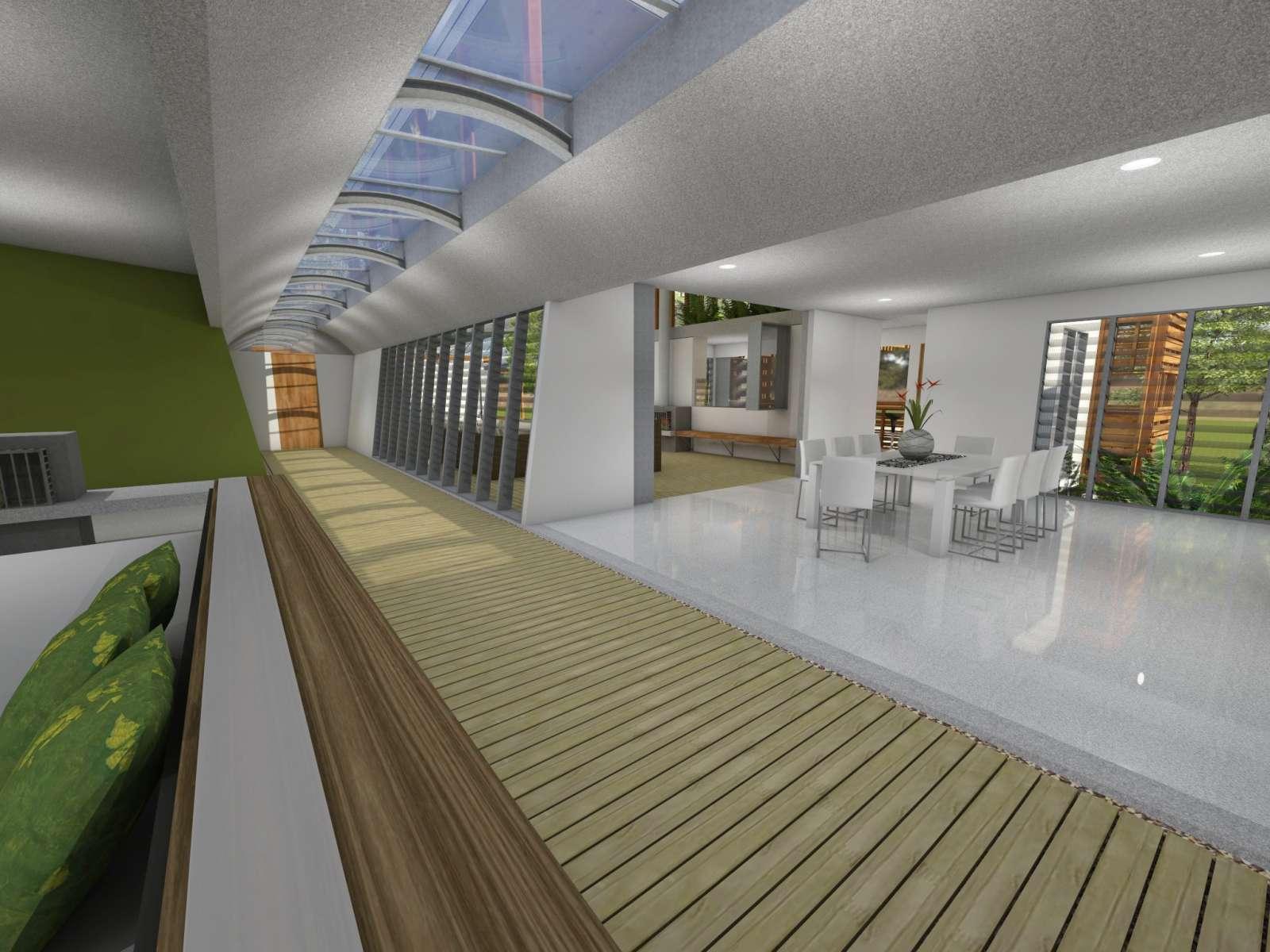 Valentine House by Bleuscape Design & Architecture Services 10