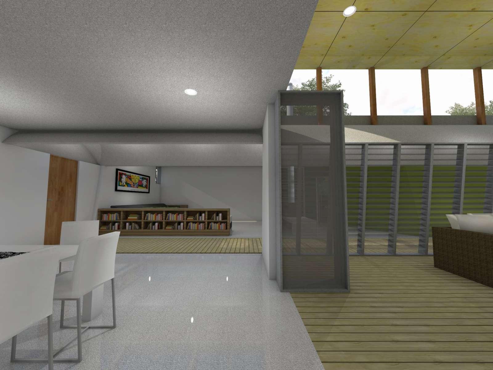 Valentine House by Bleuscape Design & Architecture Services 11