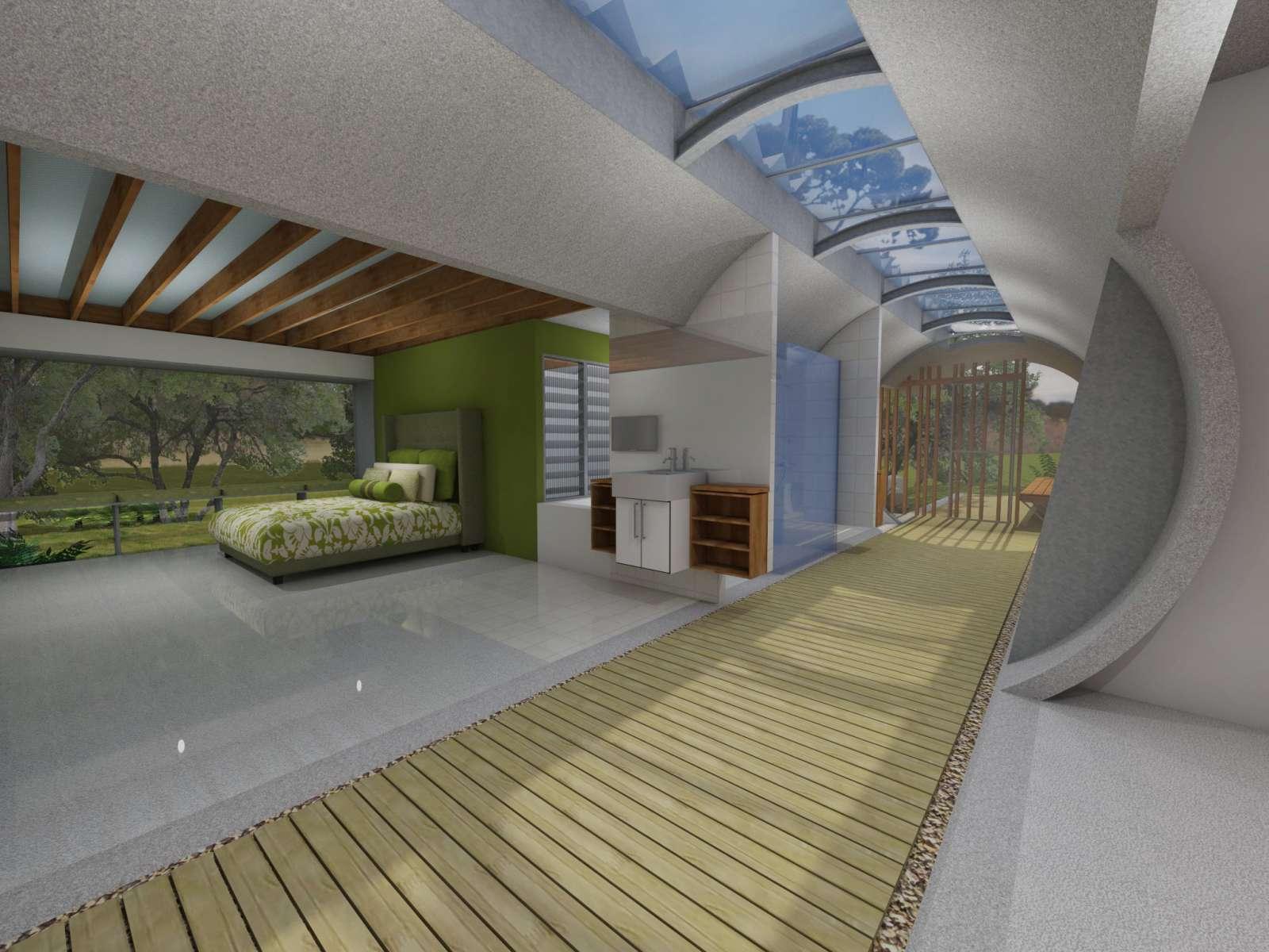 Valentine House by Bleuscape Design & Architecture Services 13