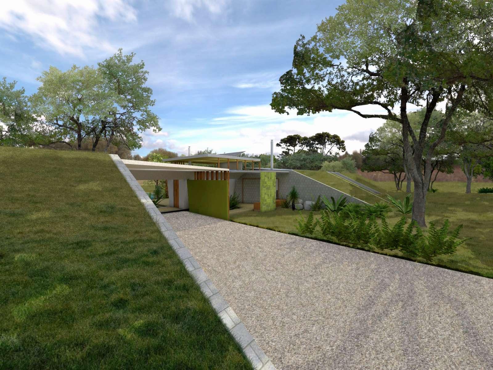 Valentine House by Bleuscape Design & Architecture Services 16