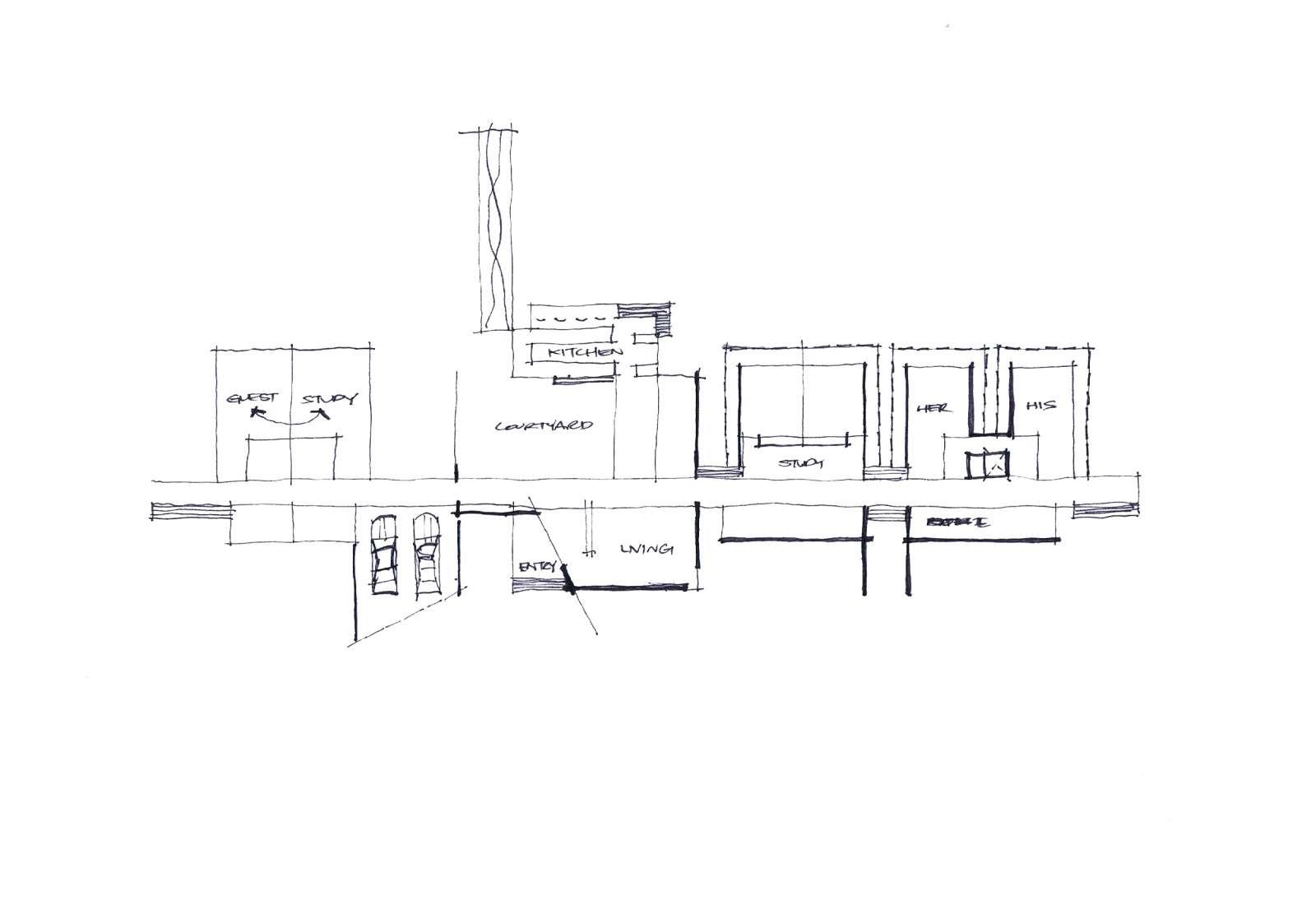 Valentine House by Bleuscape Design & Architecture Services 18