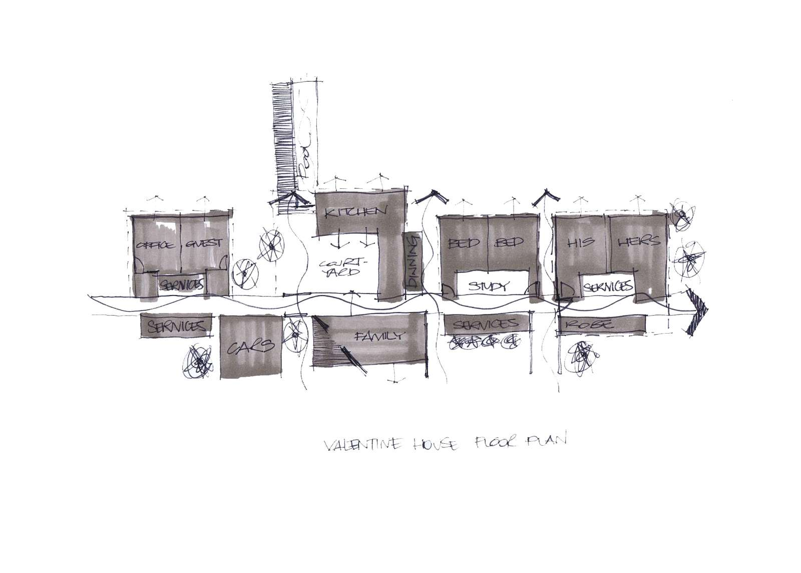 Valentine House by Bleuscape Design & Architecture Services 19