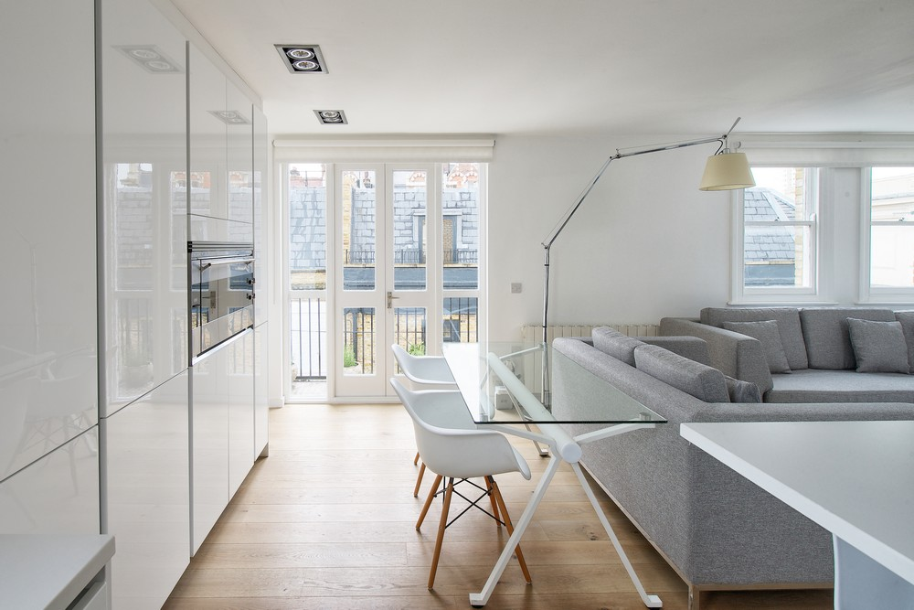 Fulham flat refurbishment by Dom Arquitectura 01