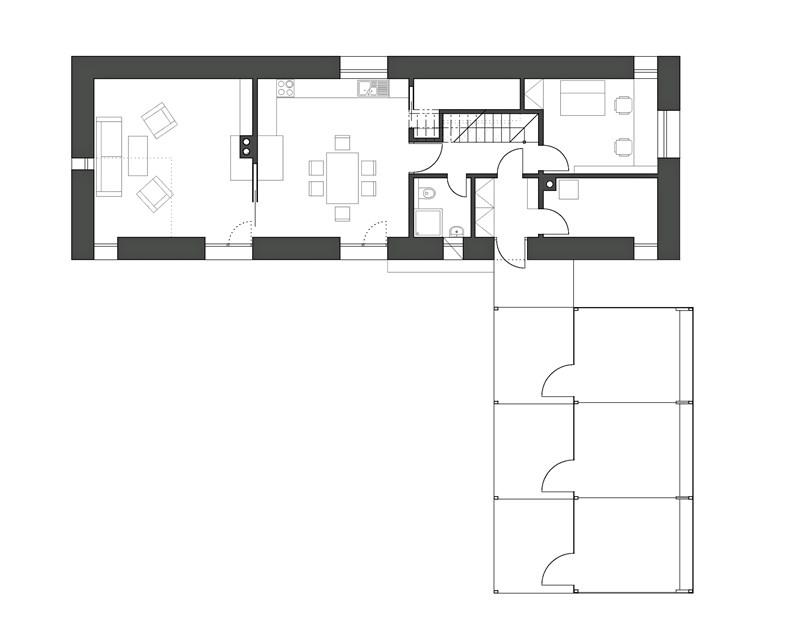 House Košťálov by 3+1architekti 24