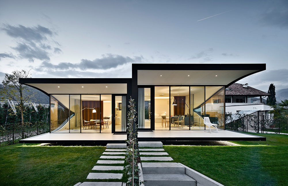 Mirror Houses by Peter Pichler Architecture 01