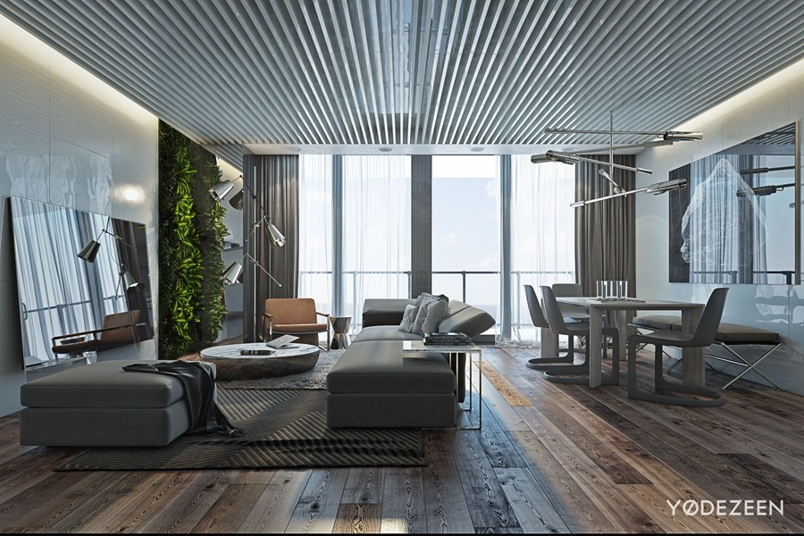 Apartment in Miami Beach by YoDezeen 01
