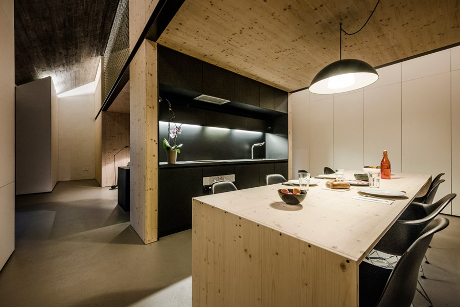 Compact Karst house by Dekleva Gregoric Arhitekti 03