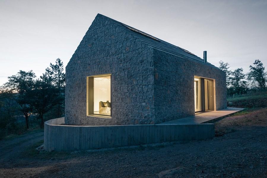 Compact Karst house by Dekleva Gregoric Arhitekti 23