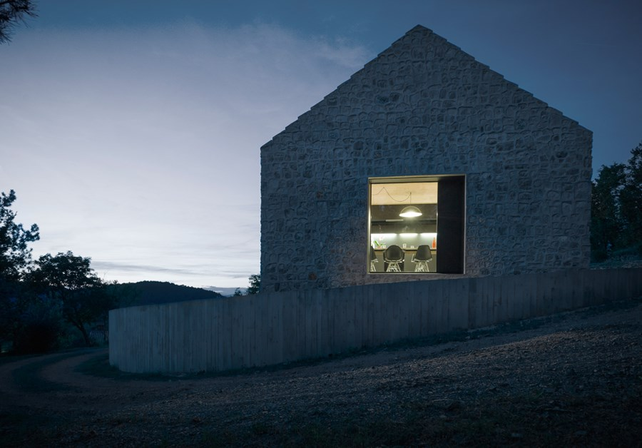 Compact Karst house by Dekleva Gregoric Arhitekti 24