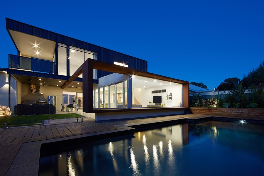 The Boulevard, City Beach house by Mark Aronson Architecture 02