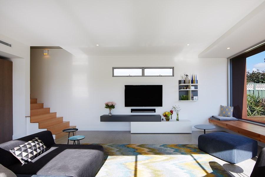 The Boulevard, City Beach house by Mark Aronson Architecture 11