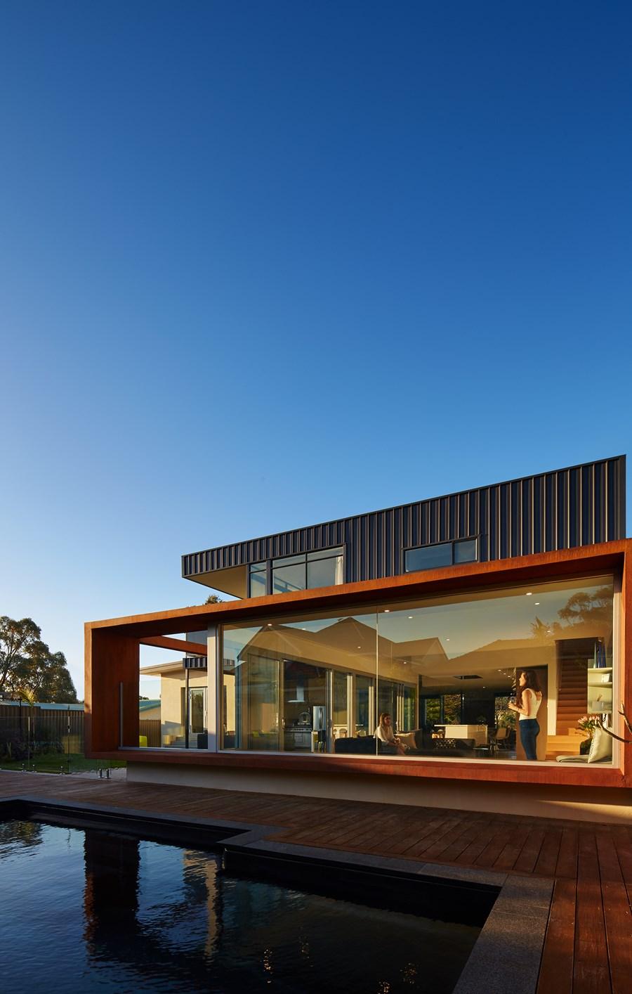 The Boulevard, City Beach house by Mark Aronson Architecture 18