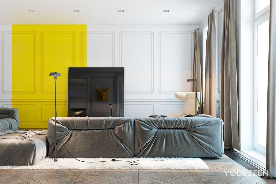 Apartment in Nice by YoDezeen