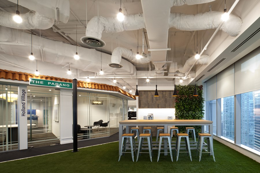 Booking.com's Singapore office by ONG&ONG group 06