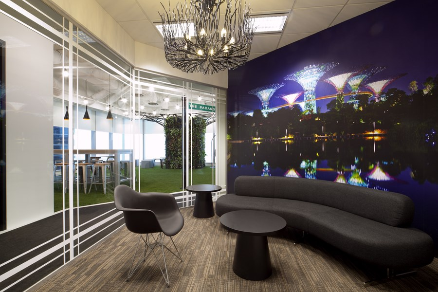 Booking.com's Singapore office by ONG&ONG group 07